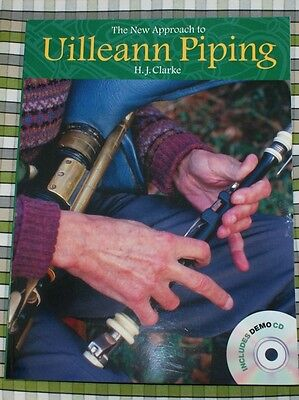 NEW APPROACH UILLEANN PIPING BOOK AND CD Irish Pipes Learning starter