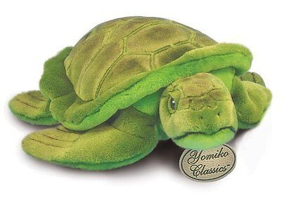 "Russ Berrie Yomiko 14"" Plush GREEN SEA TURTLE ~NEW~"