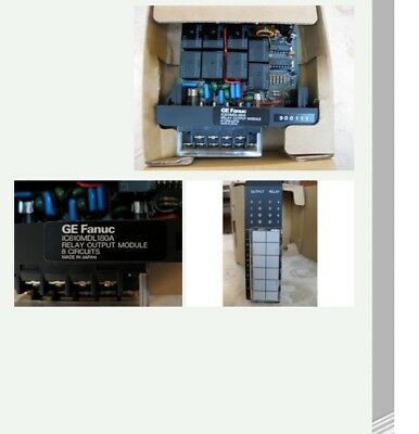 NEW GE Fanuc 8 Circuit Relay Output Module IC610MDL180A