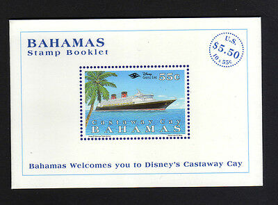 Bahamas 1998 $5.50 Complete Booklet Sb6.