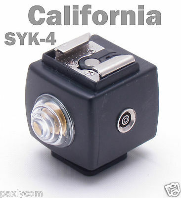 SEAGULL SYK-4 Hot Shoe Flash Slave Trigger with PC Sync SYK4 Remote Controller