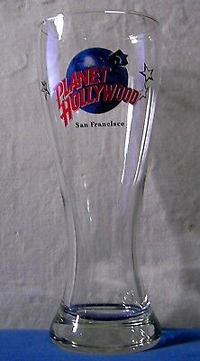 Planet Hollywood Pilsner (Beer) Glass San Francisco