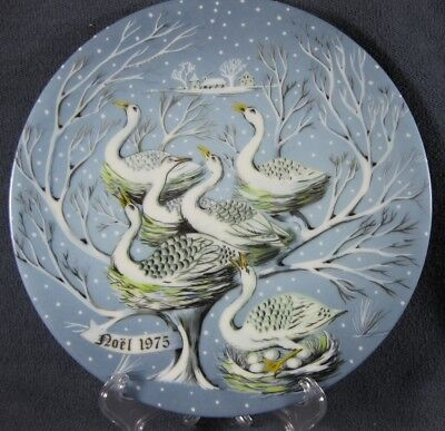 Haviland Limoges 12 Days Christmas #6 Six Geese A Laying