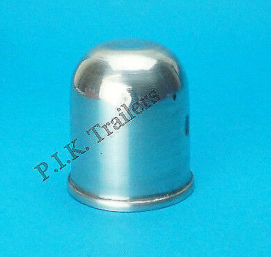 Alloy Aluminium Tow Ball Cover for 50mm Towballs - Trailer Horse Box Motor Home