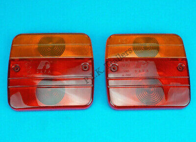 2 x Replacement Lens for DAFA Rear Trailer Lamps - DF-TR004       #GWZ