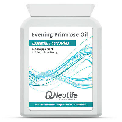 Evening Primrose Oil - 500mg - 120 Capsules