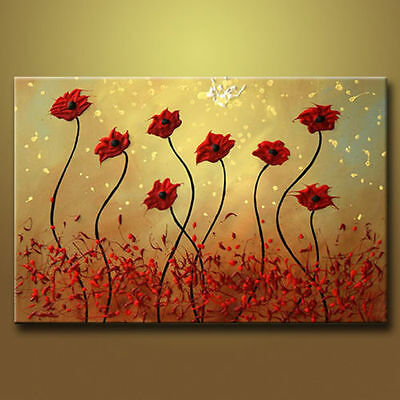 """huge canvas 24""""X36"""" Modern Abstract Art Oil Painting Wall Decor No Framed"""