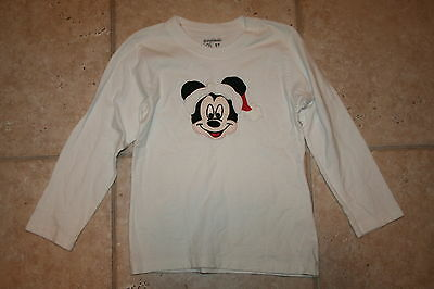 Garanimals Boys Girls 5T Homemade Mickey Mouse Disney Santa Chritsmas LS Shirt