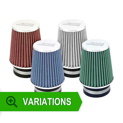 New ASH UNIVERSAL AIR FILTER 70mm NECK INDUCTION INTAKE CONE
