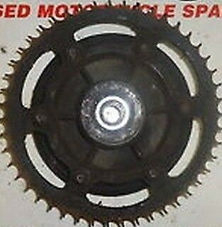 Yamaha Fzr 1000 R Exup 1989 1990:sprocket Carrier - Rear:used Motorcycle Parts