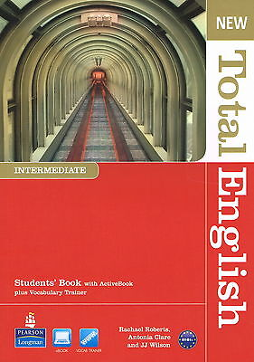 Longman NEW TOTAL ENGLISH Intermediate Students' Book with ActiveBook @NEW@