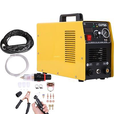 Portable DC inverter plasma cutter with Pressure Gauge Waterproof 5.5KVA 220V