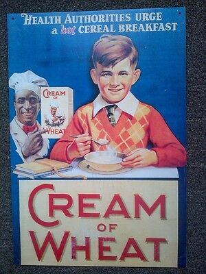 CREAM OF WHEAT SIGN Licensed Reproduction
