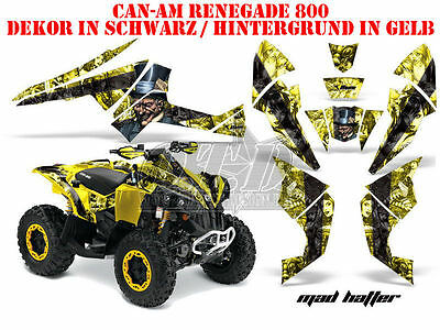 Amr Racing Dekor Kit Atv Can-Am Renegade, Ds 250, Ds 450, Ds 650 Mad Hatter B