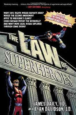 The Law of Superheroes - Paperback NEW James Daily 2013-10
