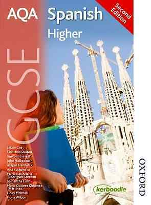 AQA GCSE Spanish Second Edition Higher - Paperback NEW Various 2013-06-24