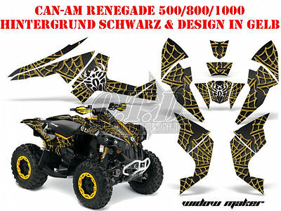 Amr Racing Dekor Kit Atv Can-Am Renegade, Ds 250, Ds 450, Ds 650 Widow Maker B