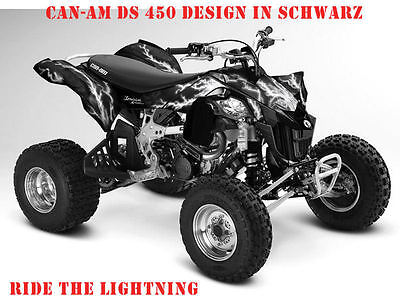 Invision Dekor Kit Atv Can-Am Renegade, Ds250, Ds450, Ds650 Ride The Lightning B