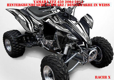 Invision Dekor Graphic Kit Atv Yamaha Yfz 450 04-14,yfz 450R Racer-X , Decals B