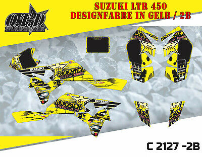 Motostyle Dekor Kit Atv Suzuki Ltr 450 Graphic Kit C2127 B