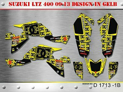 Motostyle Dekor Kit Atv Suzuki Ltz 400 Ab 2009 Graphic Kit D1713 B