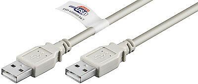 USB 2.0 Hi-Speed Kabel 2,0 m  A-Stecker-A-Stecker