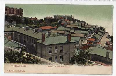 (Lt376-384) Buena Vista Barracks, GIBRALTAR Unused  c1910 G-VG,
