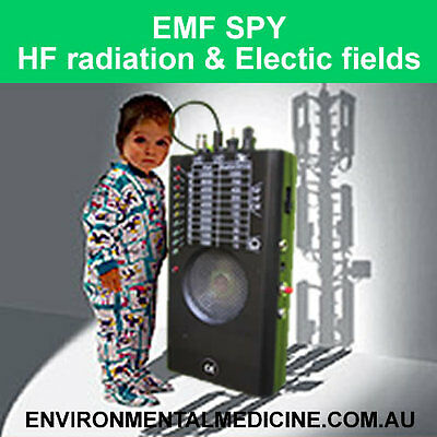 EMF Spy - EMR RF Meter for High and Low Frequency - Measure/Identify Microwaves