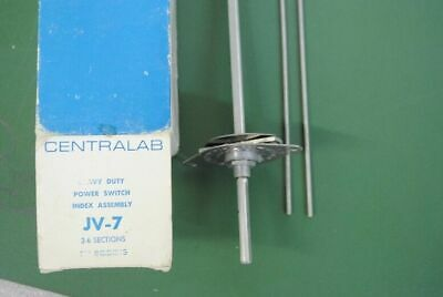 Centralab Rotary Power Switch Jv-7 2-6 Sections Nos 5930-00-923-8581