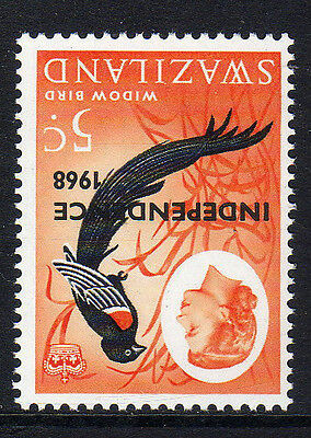 SWAZILAND 1968 5c WITH INVERTED WATERMARK SG 149w MNH.