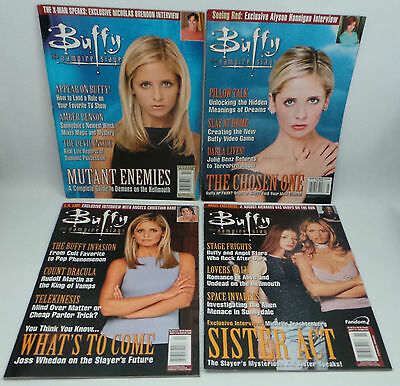 Buffy The Vampire Slayer : Set Of 11 Magazines.                        Ref : C93