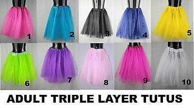 Tutu Adult Teenager 80's costume party Tutu Skirt Dance Tutu Skirt Dress up