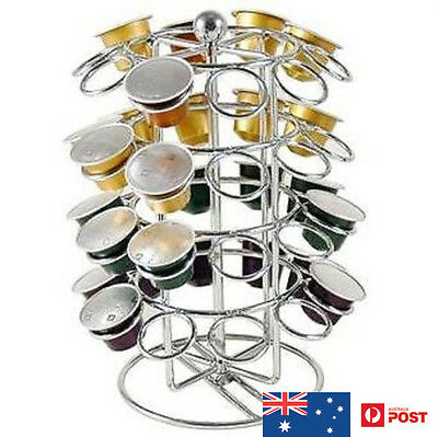 40 Pieces Coffee Capsule Holder Rack Stand For Nespresso Pods Storage Accessory