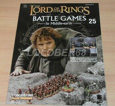 LORD OF THE RINGS Battle Games in Middle-earth Magazine Issue 25