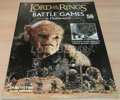 LORD OF THE RINGS =Battle Games in Middle-earth= Magazine Issue 56
