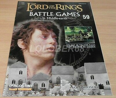 LORD OF THE RINGS =Battle Games in Middle-earth= Magazine Issue 59