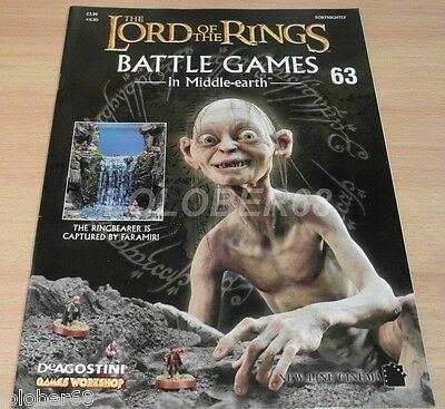 LORD OF THE RINGS =Battle Games in Middle-earth= Magazine Issue 63