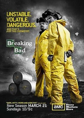 New TV Poster Print: Breaking Bad  **DISCOUNTED OFFERS** A3 / A4