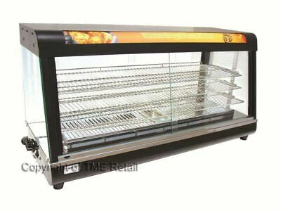 NEW X-Large Commercial Hot Food Warmer Display Showcase