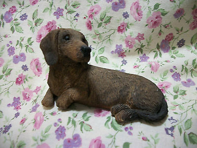 Sandicast Red Dachshund Figure