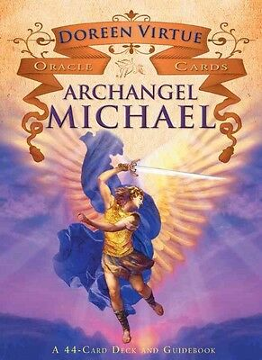 Archangel Michael Oracle Cards: A 44-Card Deck and Guidebook by Doreen Virtue (E