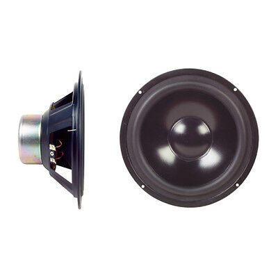 "60W 8"" Shielded Bass Mid Range Audio Sub-Woofer Speaker Stereo Monitor System"