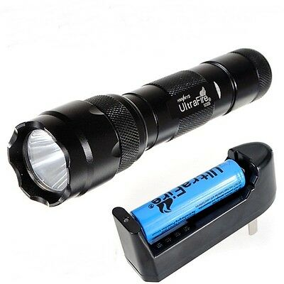 WF-502B UltraFire 1300LM CREE XM-L T6 LED Flashlight Torch 18650 Battery Charger
