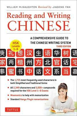 Reading And Writing Chinese - Mcnaughton, William/ Fan, Jiageng (Con) - New Pape