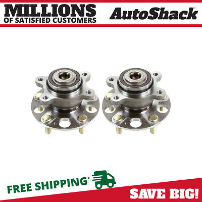 AutoShack HB612228PR Rear Wheel Hub Bearing Assembly Pair 2 Pieces Fits Driver and Passenger Side