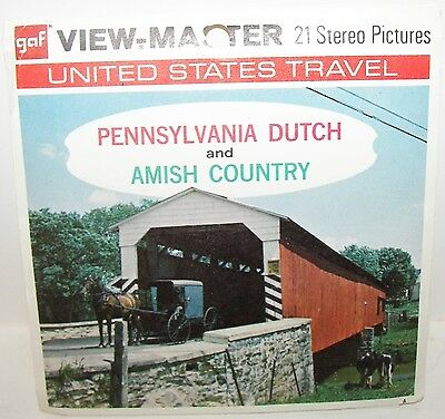 Viewmaster Pennsylvania Dutch and Amish Country