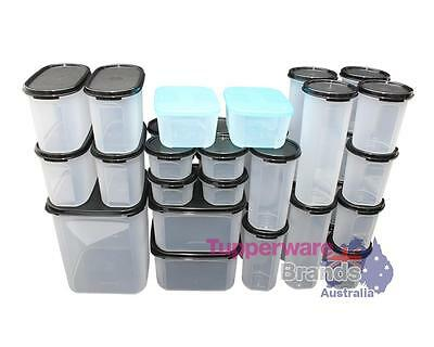 NEW TUPPERWARE 33 PCs MODULAR MATES ESSENTIAL SET COMBO - MM SQUARE ROUND OVAL