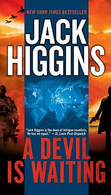 NEW A Devil Is Waiting by Jack Higgins Mass Market Paperback Book (English) Free