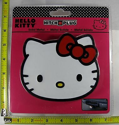 Hello Kitty Hitch Cover Plug Solid Metal Truck Trailer New L884