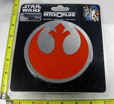 Star Wars Rebel Alliance Hitch Cover Plug Solid Metal Truck Trailer  New L881